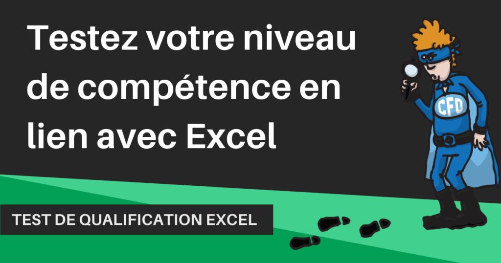 Prétest Excel