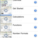 Iphone/Ipad: Applications pour apprendre Excel