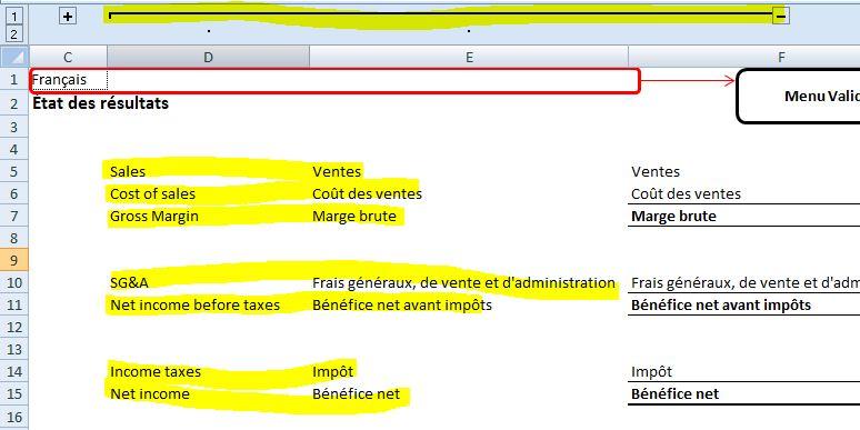 Excel Traduire D Une Langue A Une Autre En Un Clic De Souris