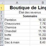 Excel: Consolidez vos données (1 de 3)