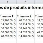 Excel: Consolidez vos données (2 de 3)