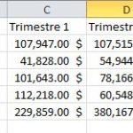Excel: Consolidez vos données (3 de 3)