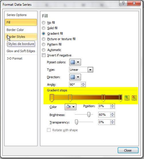 Graphiques Excel Thermomètres 8