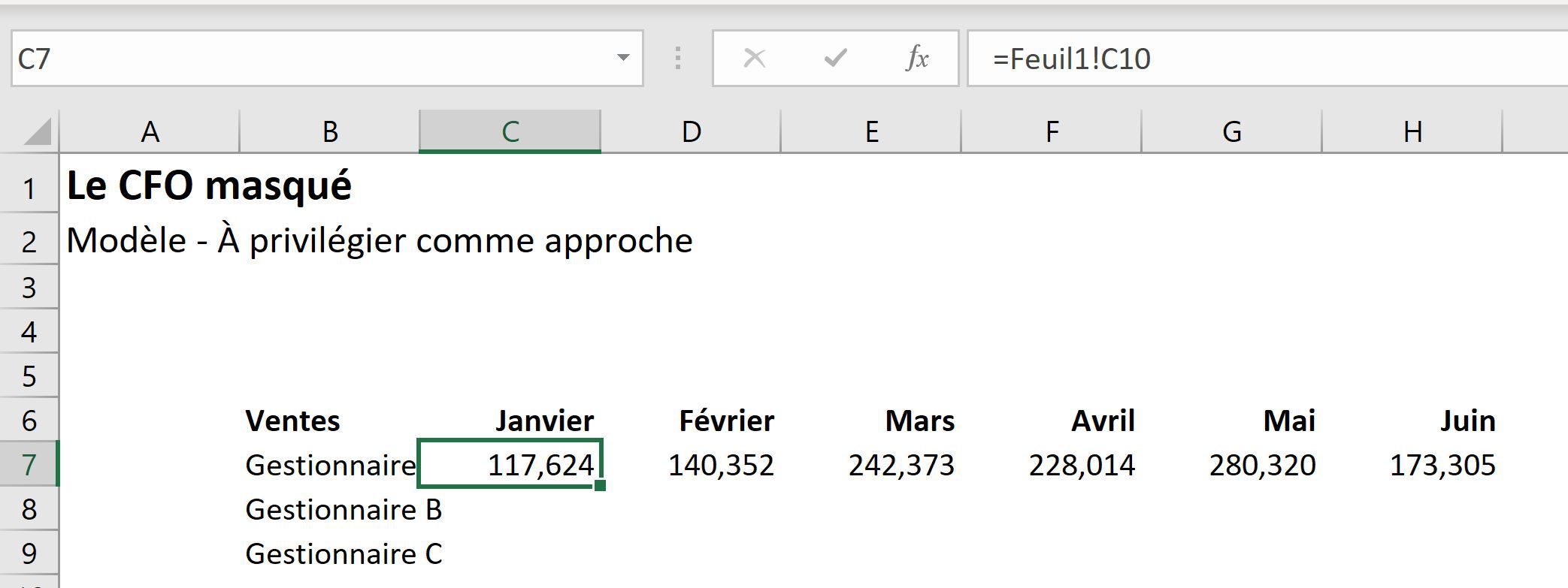 Fichiers liés dans Excel