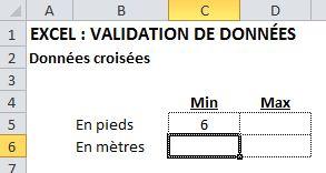 Validation données 1