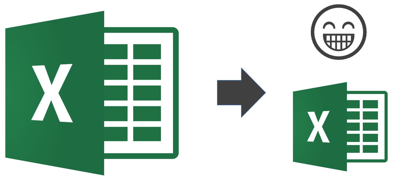 Réduire taille fichier Excel