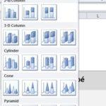 Excel: Connaissez-vous toutes les variétés de graphiques en colonnes?