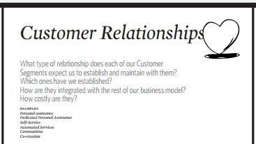 Customer Relatsionships