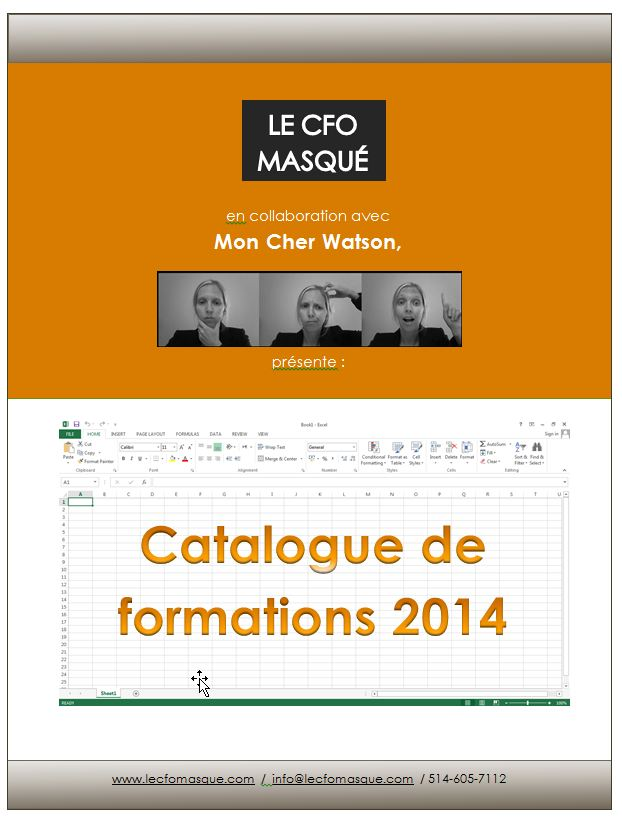 Catalogue formations 2014