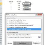 Excel: Gare à l'ajout de lignes dans vos formats conditionnels!