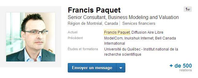 Francis Paquet