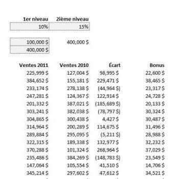 Excel fonction de recherche