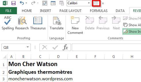 Partage de fichier Excel