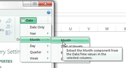 Power Query Date