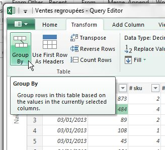 Power Query Grouper