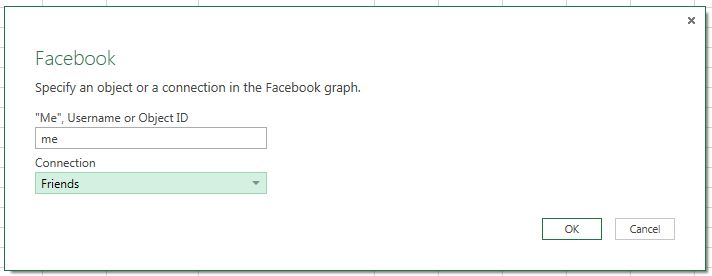 Facebook et Power BI