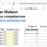 Défi Excel #4: Qui fournira la meilleure réponse?