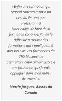 Commentaire Le CFO masqué