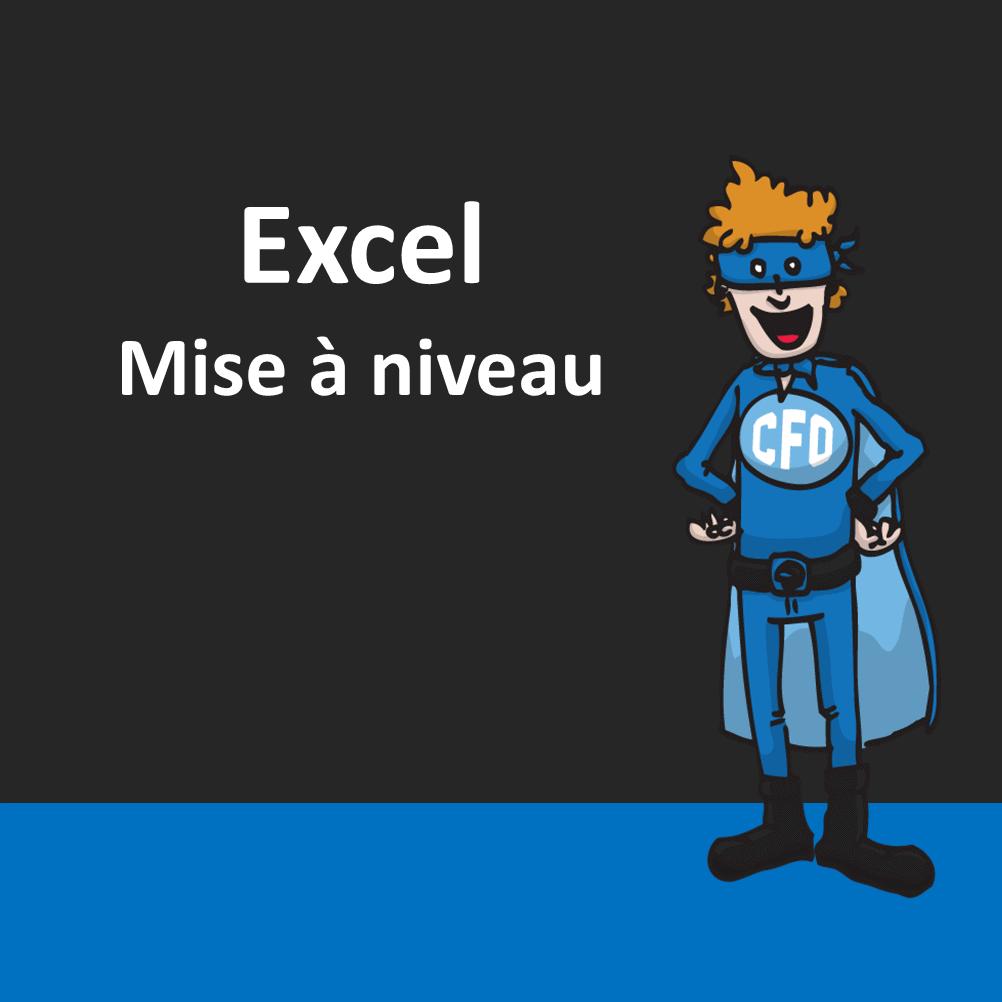 Excel - Mise à niveau