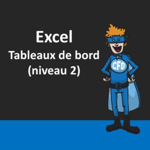 Excel - Tableaux de bord (niveau 2)