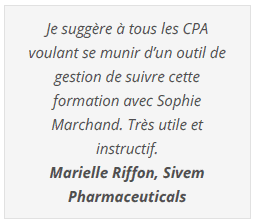 Formations Excel Le CFO Masqué