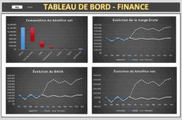 Tableau de bord des finances - Projet 1 - Extrait 4
