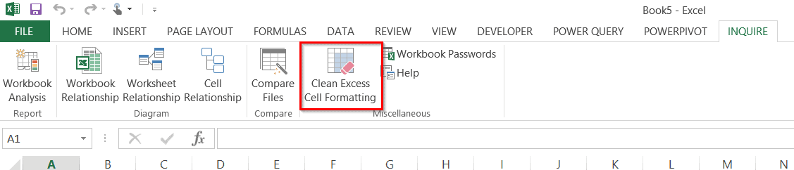 Clean excess formatting