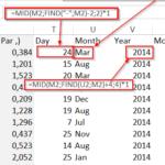 Une difficile conversion de données avec Excel – Un exemple de Modeloff 2014 (2 de 3)