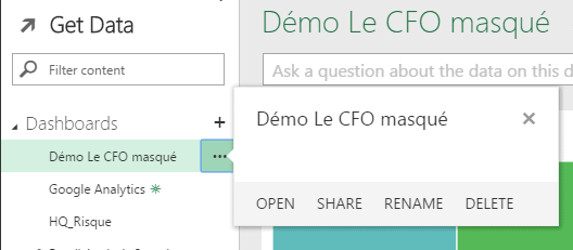 Power BI en ligne
