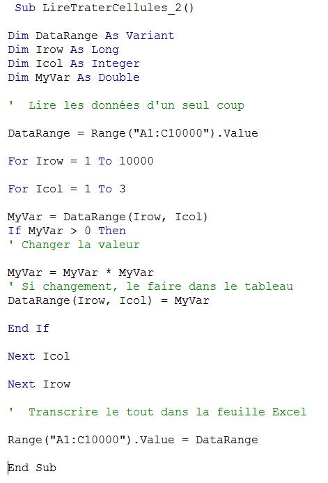double pivot extraction données excel