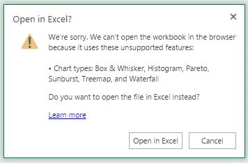 Fichiers Excel limites