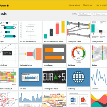 Visual Gallery Power BI