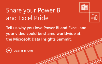 Power BI and Excel Proud