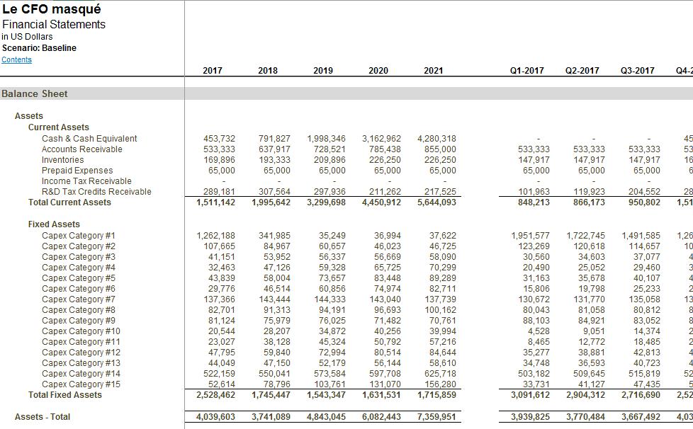 Excel Outil De Previsions Financieres