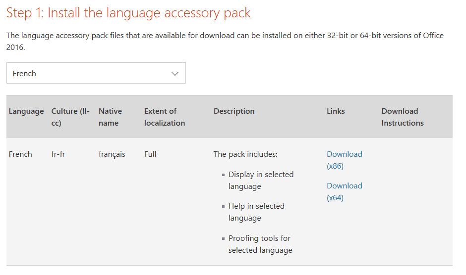 Choisir le langage