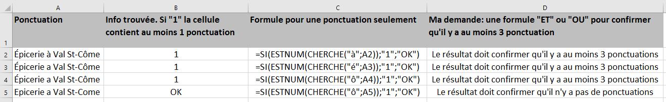 Excel Trouver Le Nombre D Accents Dans Une Cellule Le