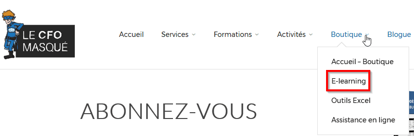 Formations e-learning achat