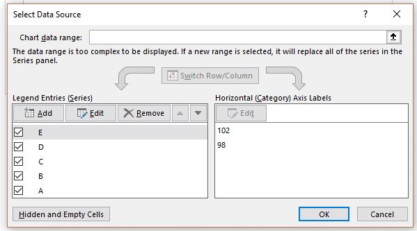 Sélectionner données option 3