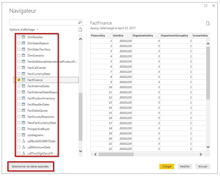 Connexion SQL Serveur