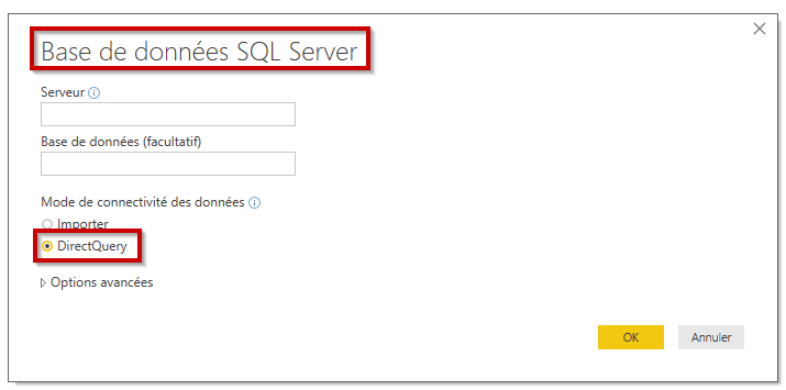 SQL Direct Query