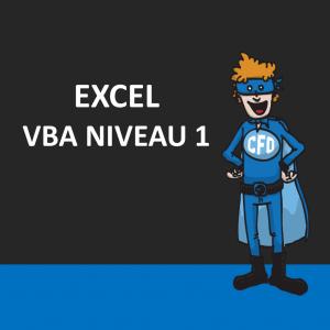 Excel - VBA niveau 1