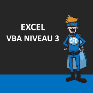 Excel - VBA niveau 3