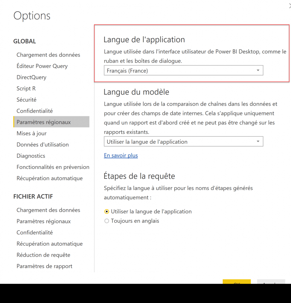 Power BI Desktop via Store