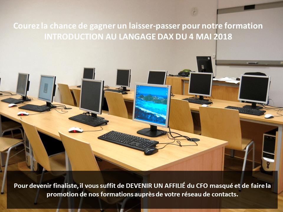 Promo Formation DAX 4 mai 2018