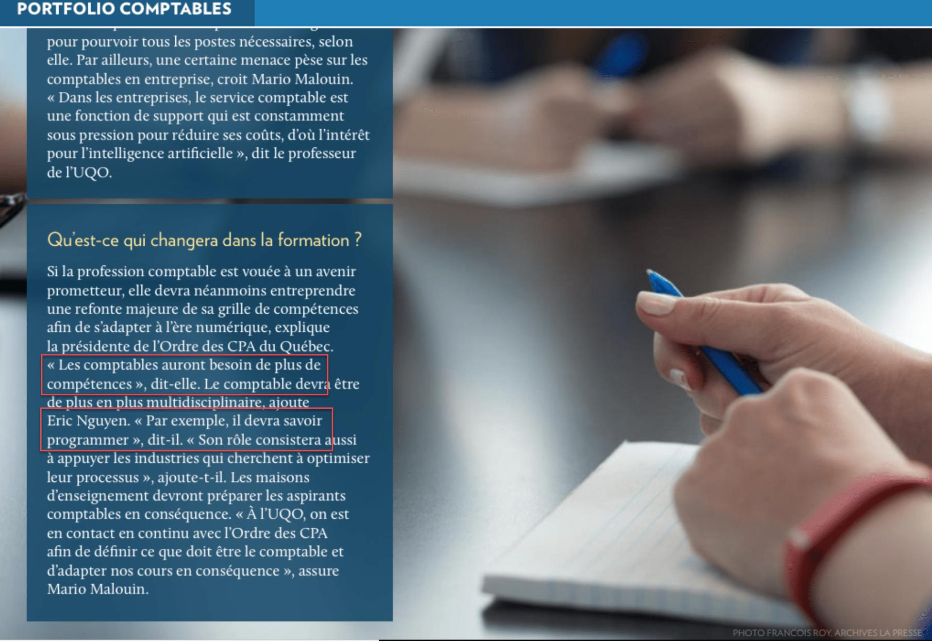 CPA et programmation