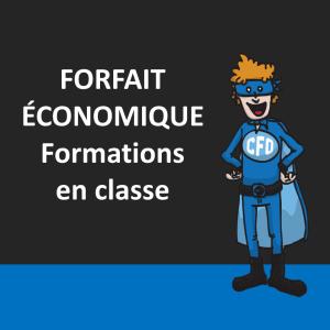 Forfait économique - formations en classe