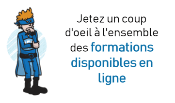 Formations disponibles en ligne