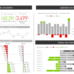 Rapport Power BI opérations