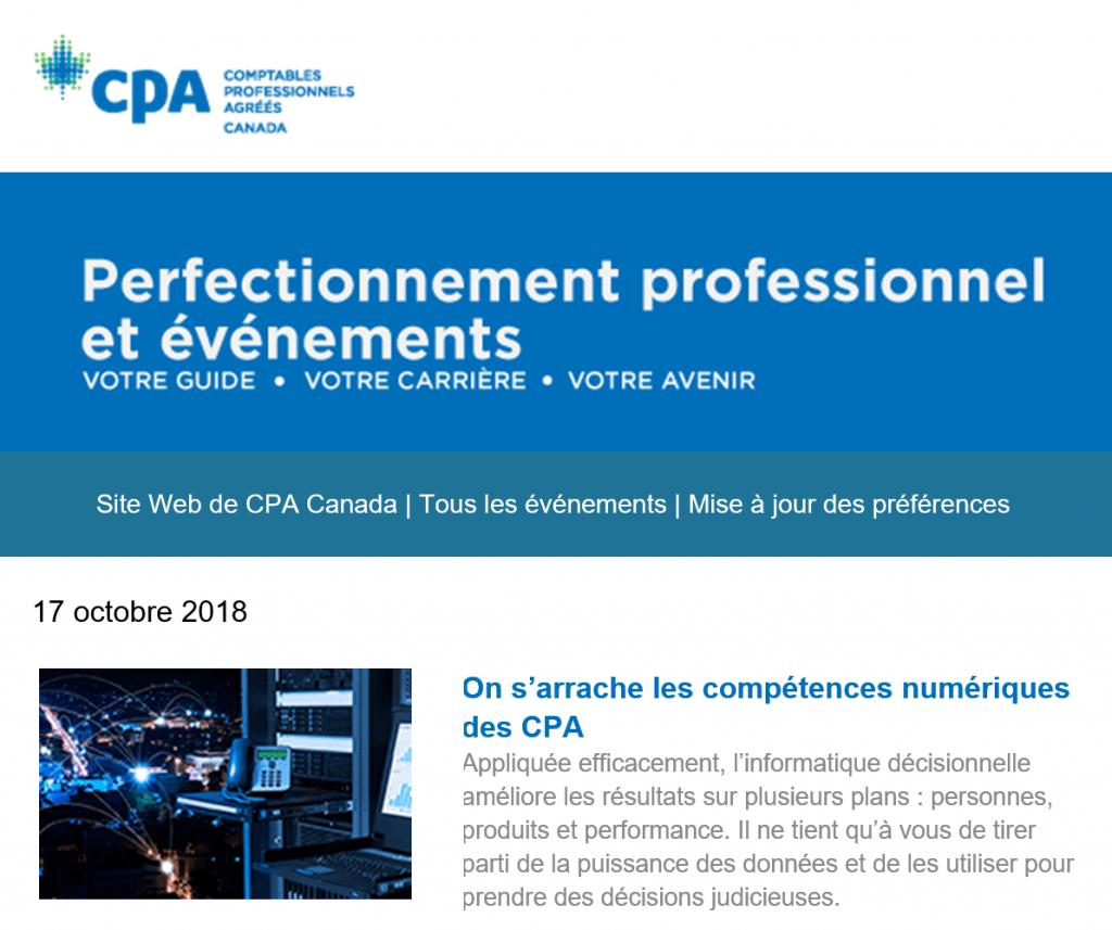 compétences CPA