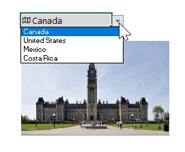 Images tirées des cartes de données liées